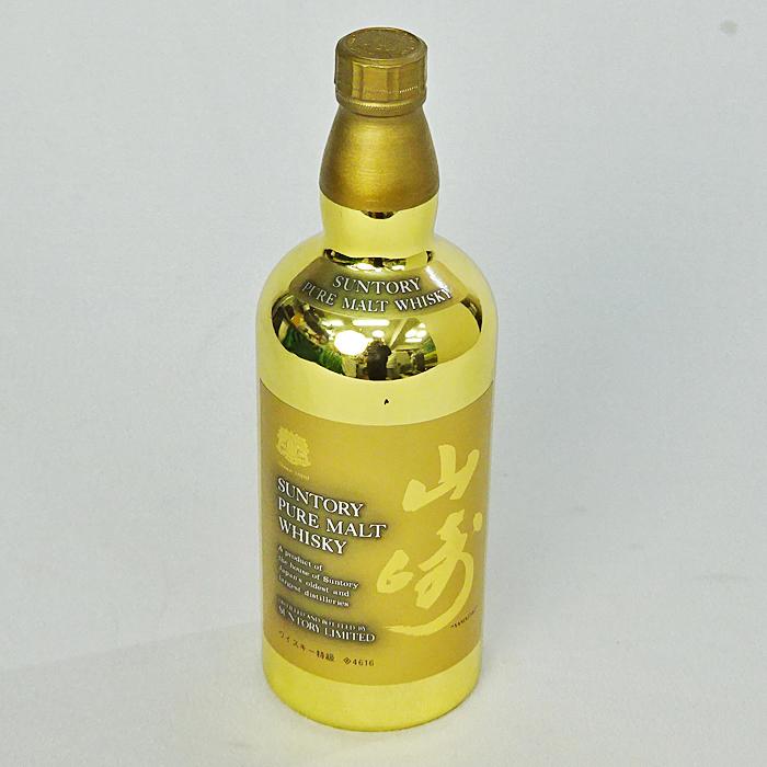 【サントリー ピュアモルト ウイスキー 山崎 60周年記念 ゴールドボトル 760ml 未開栓】200,000円でお買取りしました。