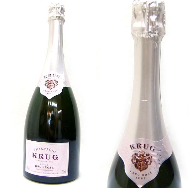 東京都品川区でKRUG クリュッグ ロゼ シャンパン 750mlを20,000円でお買取りさせていただきました。