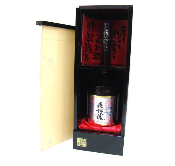 【森伊蔵 楽酔喜酒 長期熟成1997年 600ml 桐箱付】24,000円でお買取しました