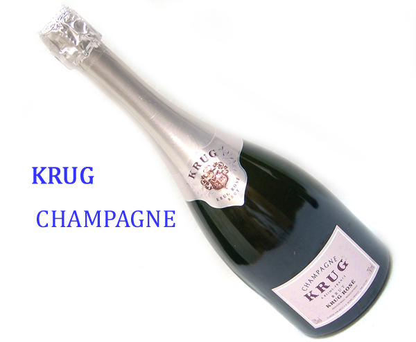 東京都足立区でKRUG クリュッグ ロゼ シャンパン 750mlを20,000円でお買取りさせていただきました。