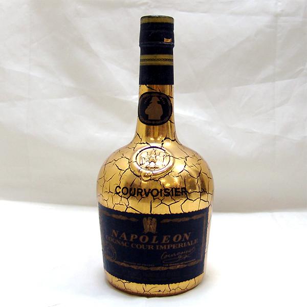 東京都世田谷区で古酒 クルボアジェ ナポレオン クール インペリアル ゴールド コ  ニャック 700mlを5,000円でお買取りさせていただきました。