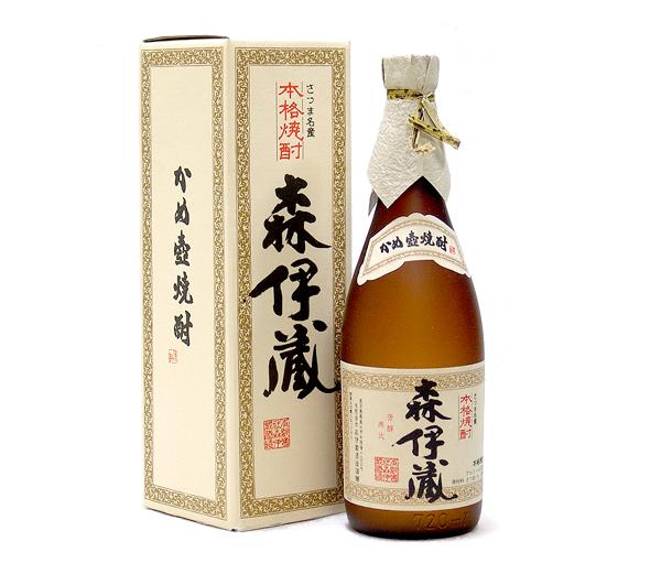 東京都台東区で森伊蔵 芋焼酎 720ml 箱付きを7,000円でお買取りさせていただきました。