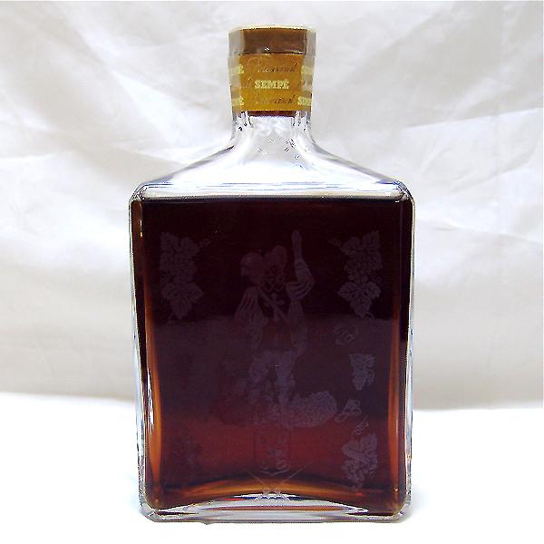 東京都練馬区で古酒 SEMPE サンペ バカラボトル アルマニャック 700mlを15,000円でお買取りさせていただきました。