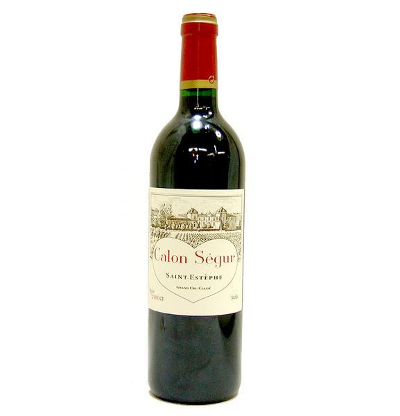 東京都杉並区でシャトー カロン セギュール 2003年 赤ワイン 750mlを5,000円でお買取りさせていただきました。