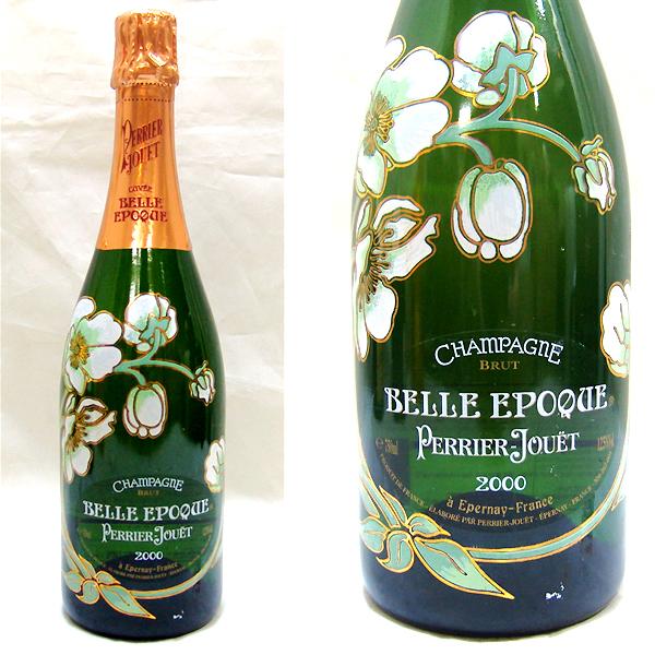 東京都大田区でペリエ ジュエ ベルエポック 2000年 シャンパン 750mlを10,000円でお買取りさせていただきました。