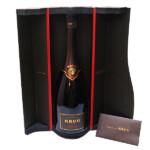 東京都渋谷区でKRUG クリュッグ 1995 シャンパン 1500ml マグナムボトル 箱付きを30,000円でお買取りさせていただきました。