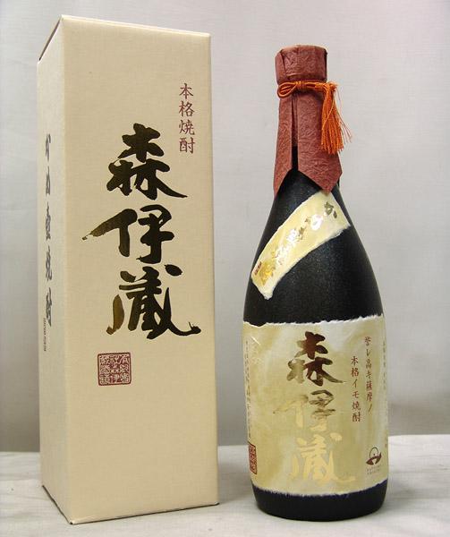 東京都西東京市で森伊蔵 金ラベル 本格芋焼酎 720ml 箱付きを7,000円でお買取りさせていただきました。