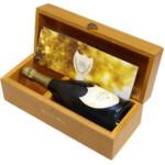 東京都文京区でドンペリニョン レゼルヴ・ドゥ・ラ・ベイ 1988年 ゴールド シャンパ  ン 750ml 木箱付を50,000円でお買取りさせていただきました。
